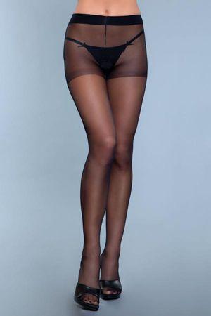 Everyday Wear Kruisloze Panty - Zwart