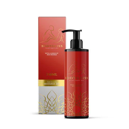 BodyGliss - Massage Olie En Glijmiddel in 1 Rode Sinaasappel - 150 ml
