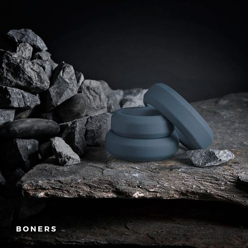 Boners Cockring Set 3-delig