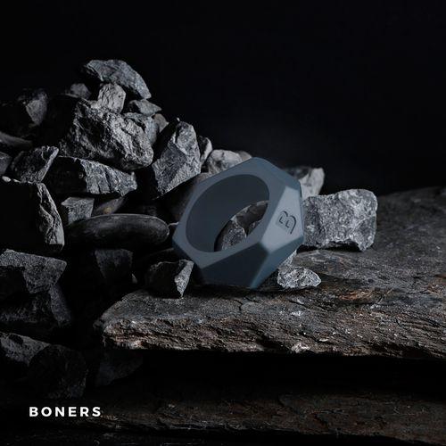 Boners Diamond Penisring - grau