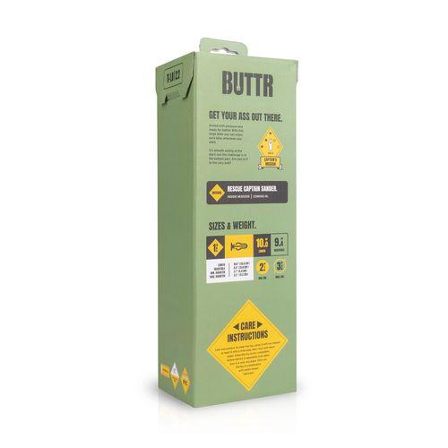 BUTTR Tactical I Dildo mit Saugnapf 23,85cm Einführtiefe und 5,4cm Durchmesser