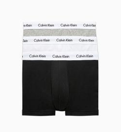 Calvin Klein Boxershort 3 Pack - Wit/Grijs/Zwart