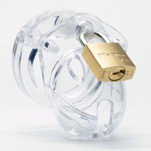 CB-X - Mini Me Keuschheitskäfig - Transparent