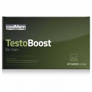 CoolMann - Testoboost - 40 stuks