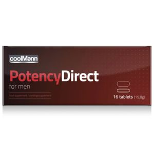 CoolMann - PotencyDirect Potentie Pillen - 16 stuks