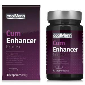 CoolMann - Cum Enhancer Sperma Verbeteraar - 30 stuks