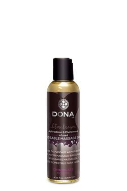 Dona - Kissable Massage Olie - Chocolate