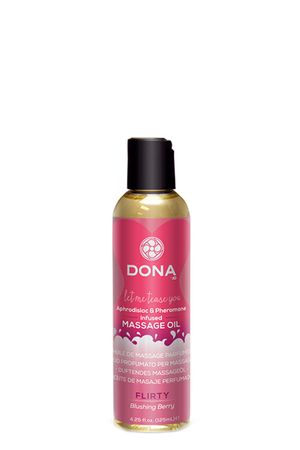 Dona - Scented Massage Olie Flirty Blushing Berry