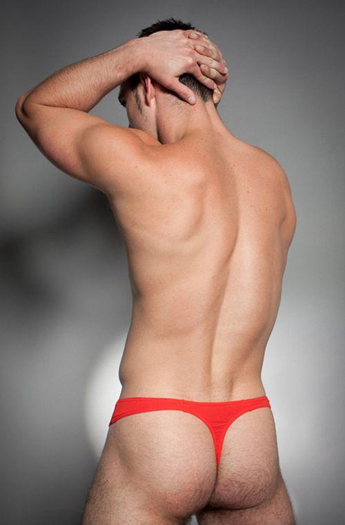 String für Herren in Rot – Basic