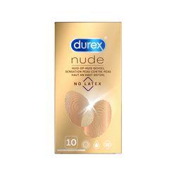 Durex Nude No Latex - 10 Stuks