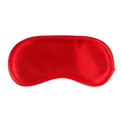 Rote Augenmaske aus Satin
