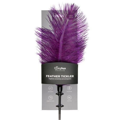Violetter Feder-Tickler
