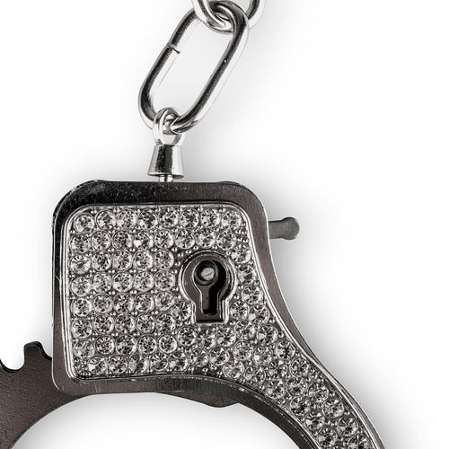 Metalen Handboeien Met Strass-Steentjes