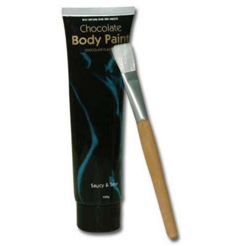 Schokoladen-Bodypaint