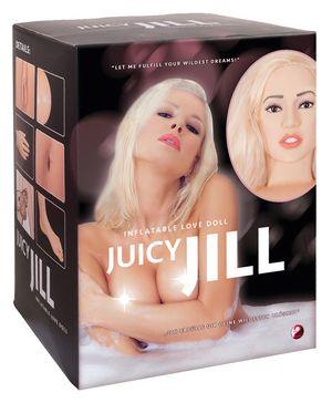 Blonde Opblaaspop - Juicy Jill