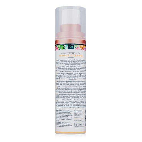 Exotiq Massageolie Vanilla Caramel - 100 ml