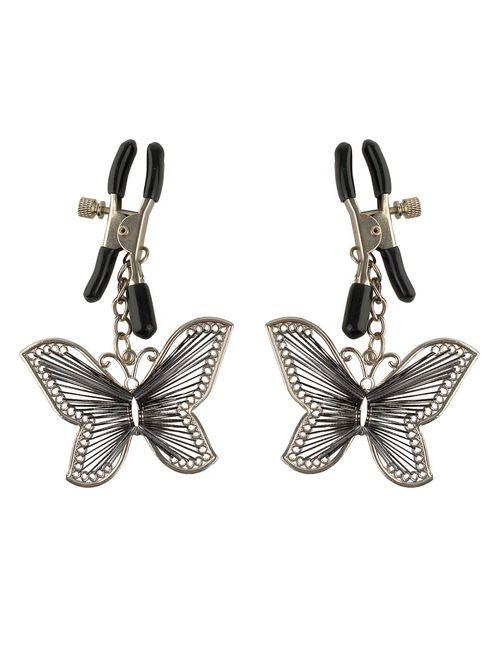 Nippelklemmen mit Schmetterling