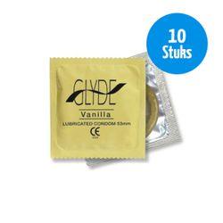 GLYDE - Ultra condooms met vanille smaak - 10 stuks