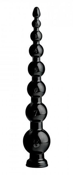 Graduated Bead Anal Snake Anaaldildo - 49 cm