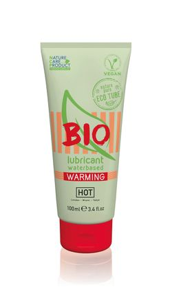 HOT BIO Warming Waterbasis Glijmiddel - 100 ml
