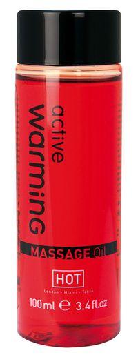 Huile de massage chauffante HOT 100 ml