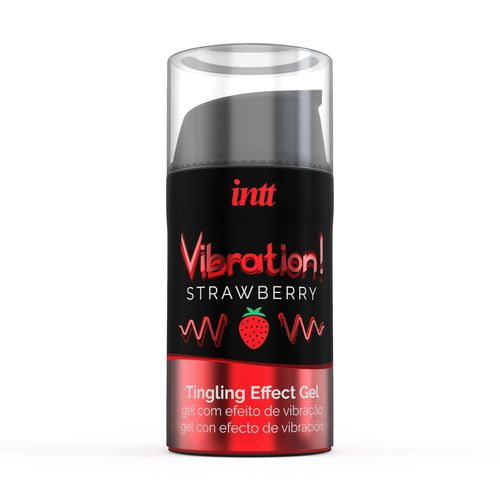 Vibration! Strawberry Tingling Gel