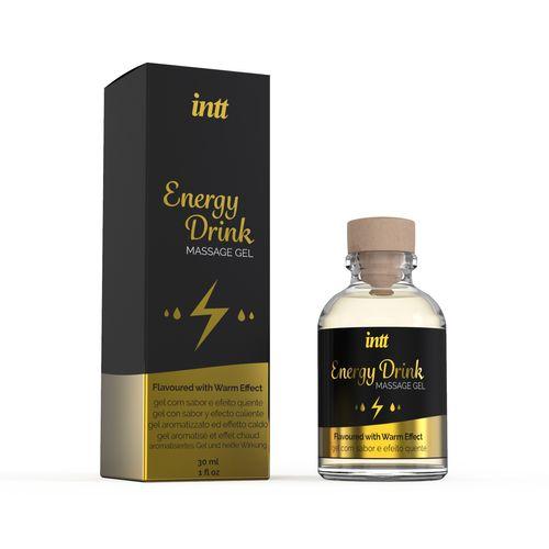 Energy Drink Warming Massage Gel