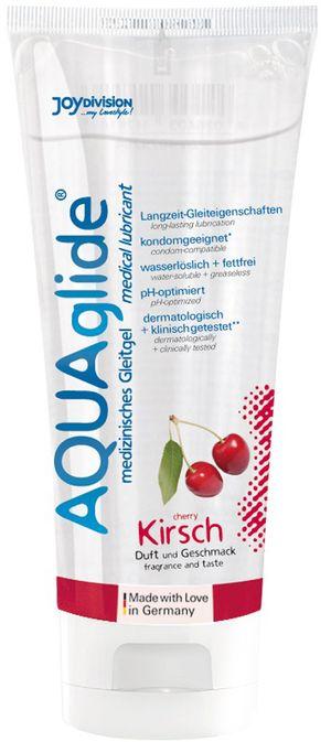 AQUAglide Glijmiddel Kers - 100 ml