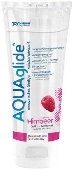 AQUAglide Glijmiddel Frambozen - 100 ml