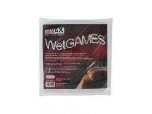 SexMAX WetGAMES Laklaken 180 x 220 cm - Wit