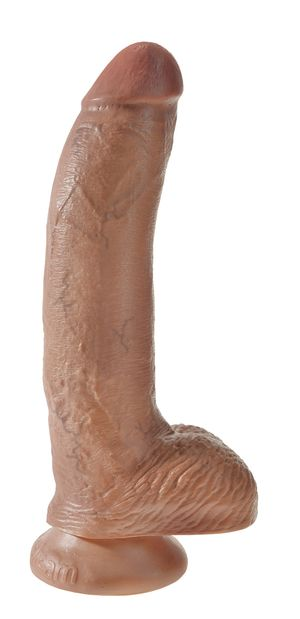 King Cock Realistische Dildo Met Balzak - 22.8 cm