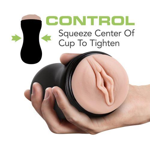 M for Men - Soft and Wet Masturbator Self Lubricating - Ribbels