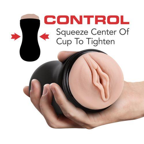 M for Men - Soft and Wet Masturbator Self Lubricating - Noppen & Ribbels