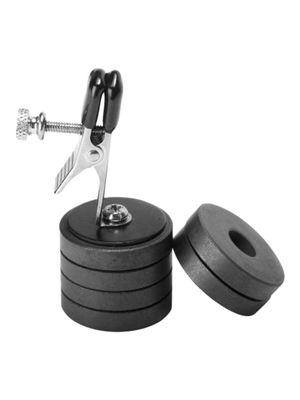 Tepelklem met magneetgewichten