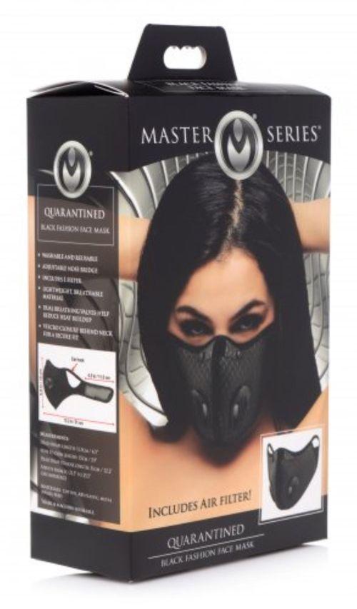 Quarantäne-Gesichtsmaske mit Filter