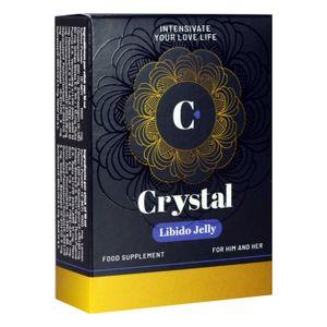 Crystal Libido Jelly - Aphrodisiakum für Männer und Frauen - 5 Beutel