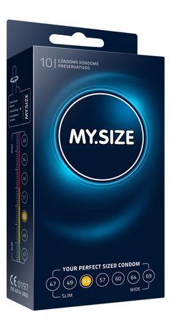 MY.SIZE Pro 53 mm Condooms - 10 stuks