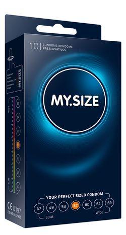 MY.SIZE Pro 57 mm Condooms - 10 stuks