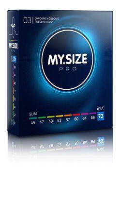 MY.SIZE Pro 72 mm Condooms - 3 stuks