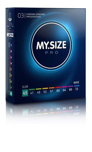 MY.SIZE Pro 45 mm Condooms 3 stuks