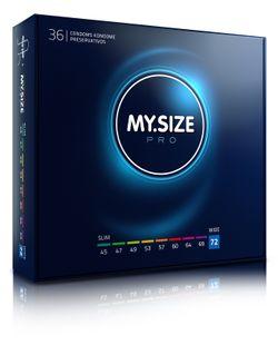 MY.SIZE Pro 72 mm Condooms - 36 stuks