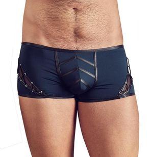 Sexy Herrenshorts - Blau/Schwarz