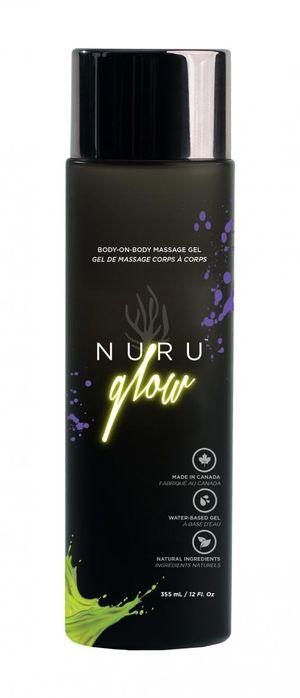 Nuru Glow Body2Body Massage Gel – 335 ml