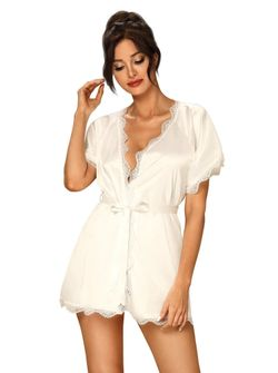 Kimono Prima Neve – Złamana biel