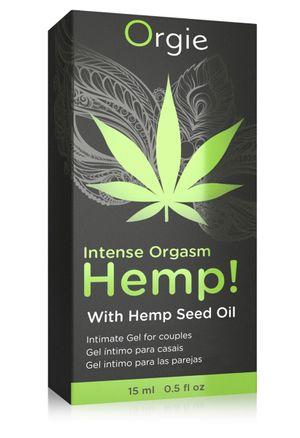 Intense Orgasm Hemp Gel - 15 ml