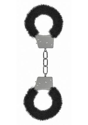 Handschellen in Schwarz für Einsteiger