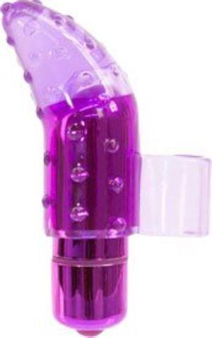 Frisky Finger Vibrator mit Bullet - Lila