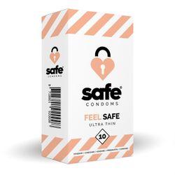 SAFE - Condooms - Ultra Dun - 10 stuks