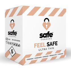 SAFE - Condooms - Ultra Dun - 5 stuks