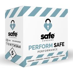 SAFE - Condooms Orgasme Vertragend - Performance - 5 stuks